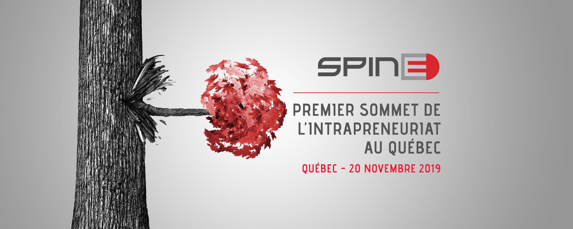SPINE | Premier Sommet de L'Intrapreneuriat au Quebec